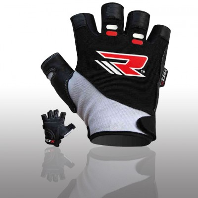 2436 RDX GYM GLOVES AMARA WHITEBLACK