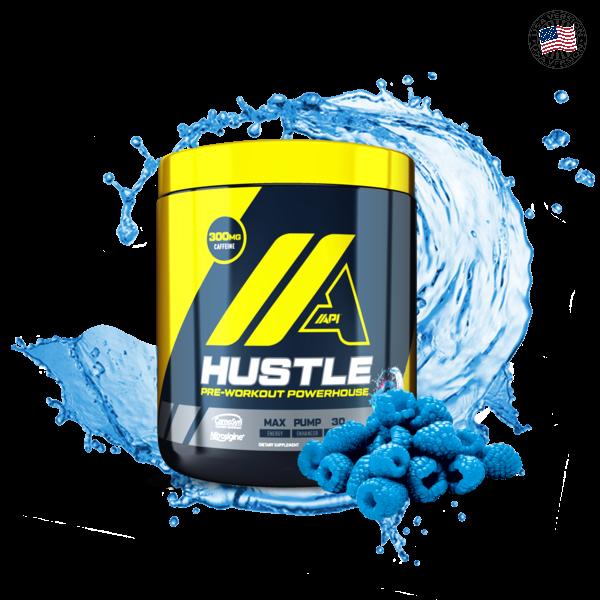 Hustle_Electric_Blue_Razz_216g_w_slpash_grande